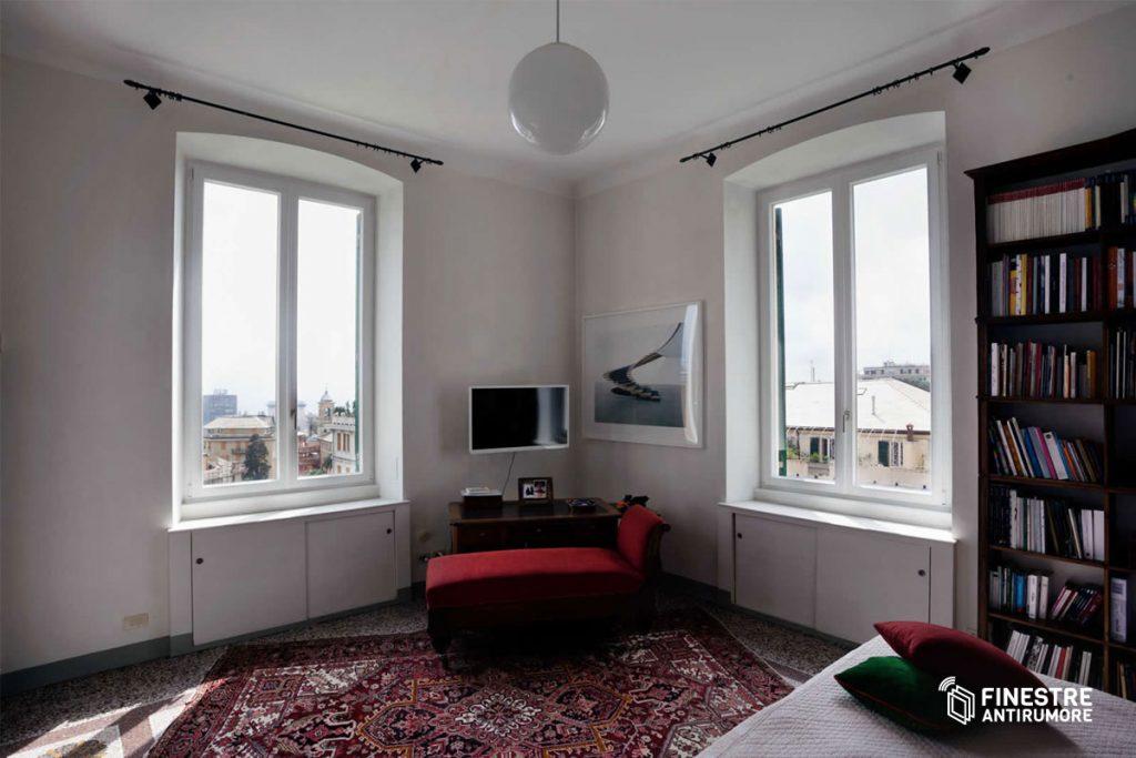 finestre pvc antirumore